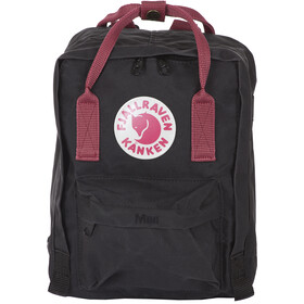Fjällräven Kånken Mini Rucksack Kinder black/ox red